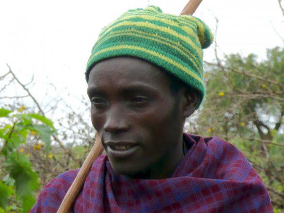 Young Datoga in Tanzania