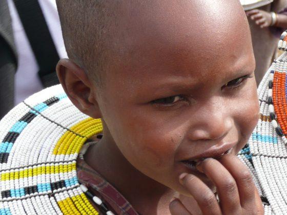 Masaï child in Tanzania
