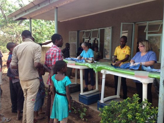 Foundation for Veterinary Aid International clinic in Tanzania