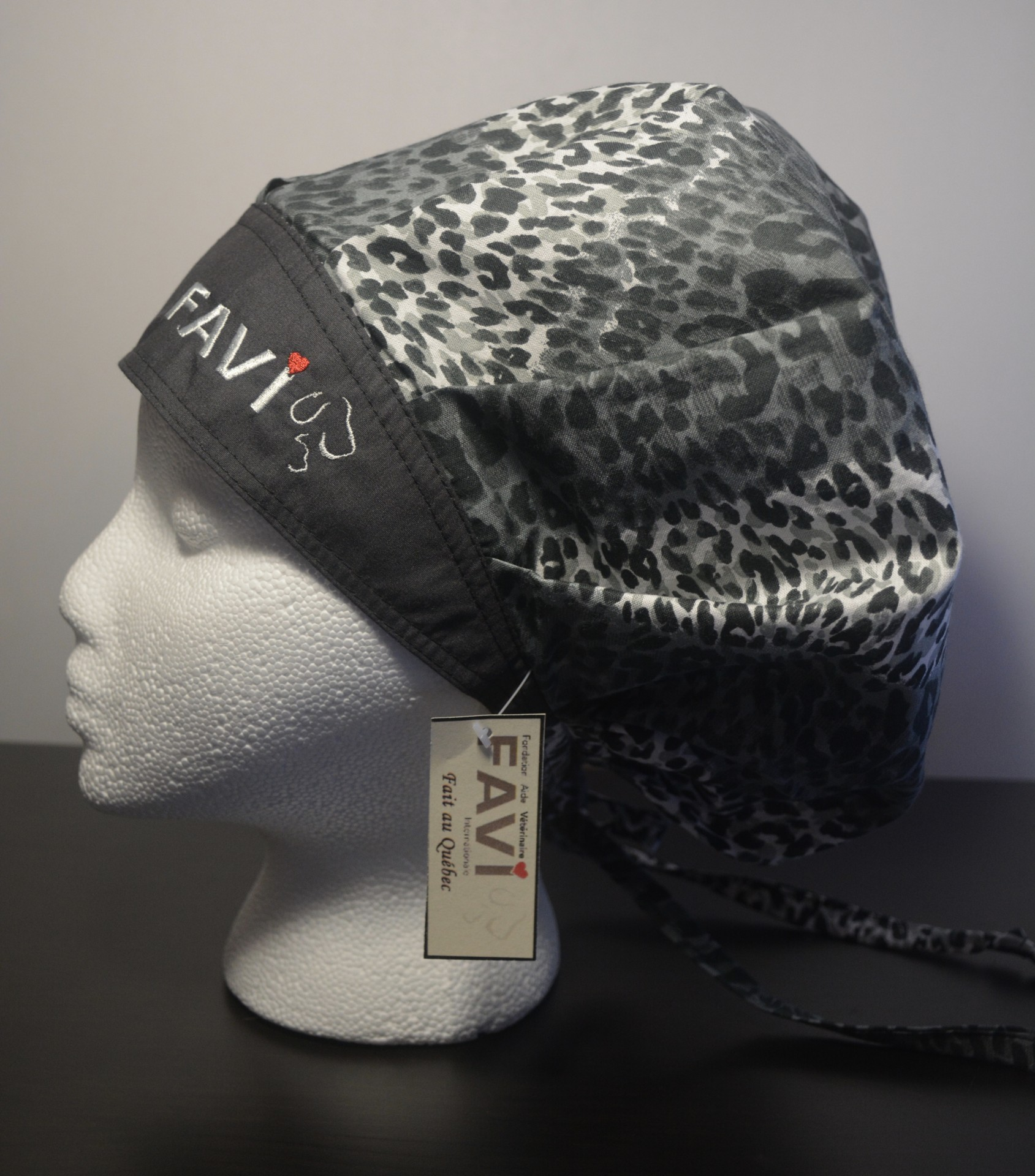surgical bouffant cap-animal pattern 7e01861a630