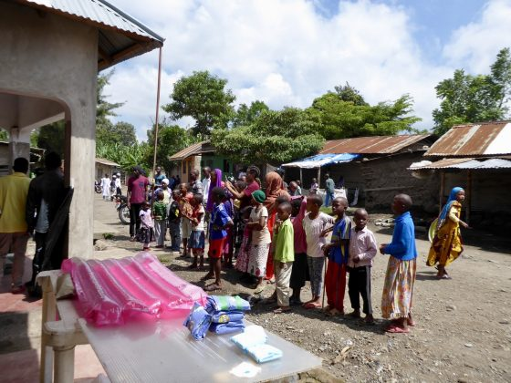 Our clinic in Sakina, Tanzania was very popular !