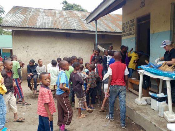 Sunday FVAI vet clinic in Tanzania