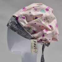 surgical bouffant cap-Miss Bunny