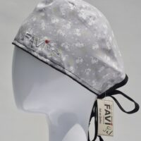 surgical cap-mini mouse in grey