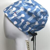 semi-bouffant surgical cap-happy octopus