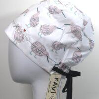 semi-bouffant surgical cap-the kiwis