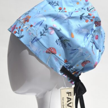 semi-bouffant surgical cap-spring is here!