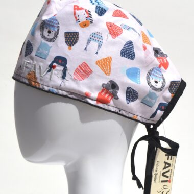 surgical cap-put your toque on in white