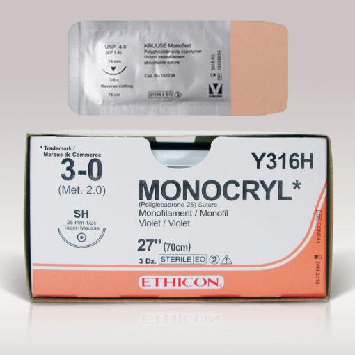 Fil de suture Monocryl