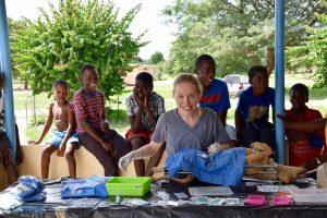 Dre Angélique, vétérinaire de la FAVI au Botswana