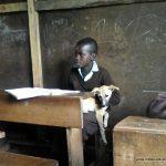 En classe en Tanzanie