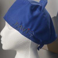 Chapeau de chirurgie bleu royal