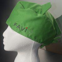 Chapeau de chirurgie vert