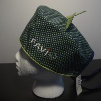chapeau de chirurgie Les petits pois en vert