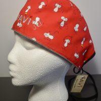 chapeau de chirurgie Les souris en skate Rouge