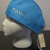 chapeau de chirurgie bleu océan