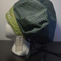 chapeau de chirurgie bouffant Les petits pois en vert