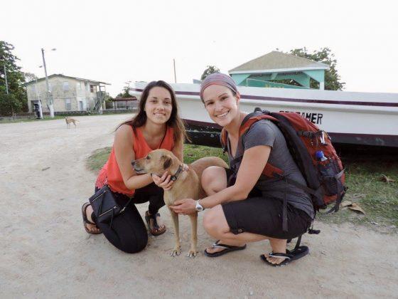 Bénévoles de la FAVI au Belize
