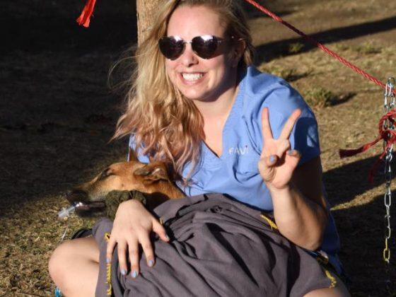 Mission accomplie Dre Rouleau, vétérinaire récemment graduée!