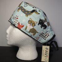 chapeau de chirurgie-les chiens Hipsters