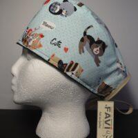 chapeau de chirurgie-les petits chats cute!