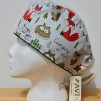 image chapeau de chirurgie-Camping in style!