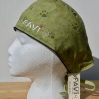 chapeau de chirurgie-Petites Pattes vertes