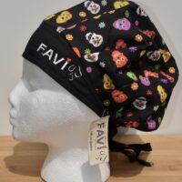 chapeau de chirurgie bouffant-Joyeux crânes