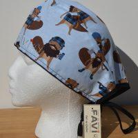 chapeau de chirurgie-Castors-Bûcherons en jeans
