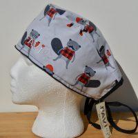 chapeau de chirurgie-Castor-Bûcherons en chemise à carreaux