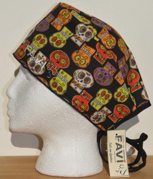chapeau de chirurgie-les crânes mexicains