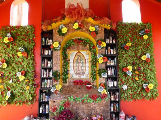 Chapelle sur la route 1, projet FAVI, Baja California