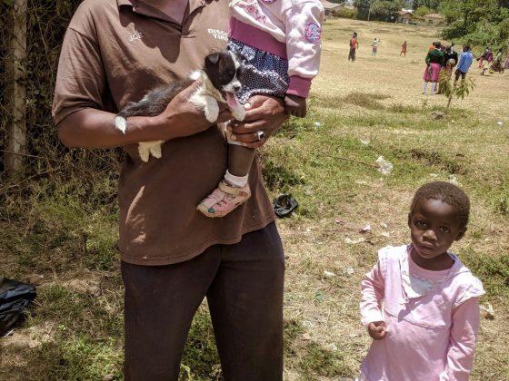 C'est en vaccinant les chiens que nous préviendrons les cas de rage chez les enfants!