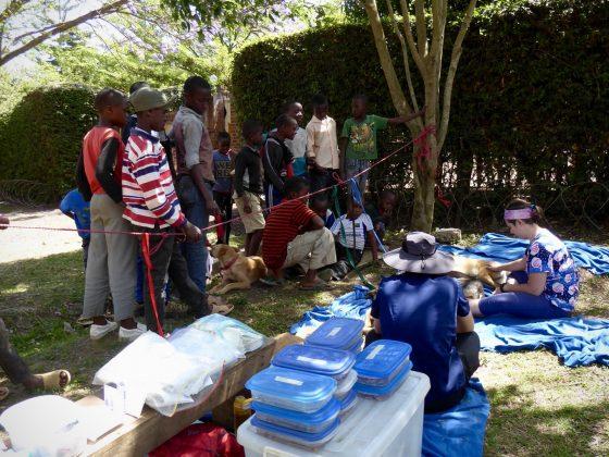Zone de réveil, clinique FAVI en Tanzanie