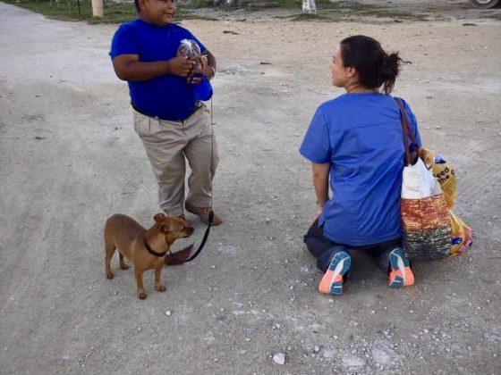 Bénévole FAVI à Sarteneja, Belize