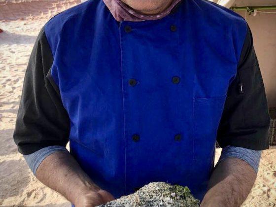 Camping FAVI à Espiritu Santo. Notre chef cuisinier Martin.