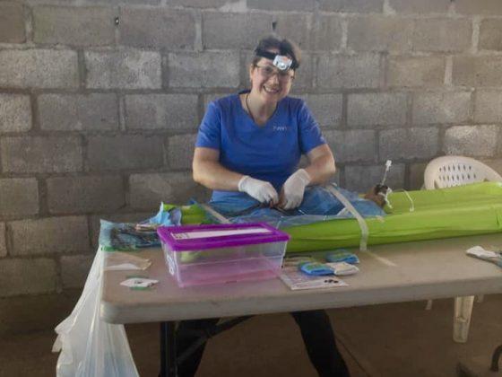 Dre Geneviève, vétérinaire bénévole FAVI