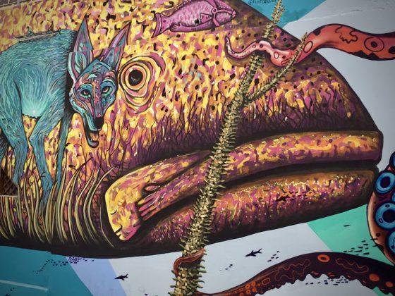 Magnifique murale à La Paz, Baja California Sur
