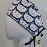 chapeau de chirurgie-les belles faces de chat