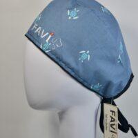 chapeau de chirurgie-les tortues bleues