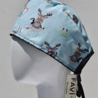 chapeau de chirurgie-les orignaux en vacances