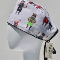 chapeau de chirurgie-les ours font du BBQ