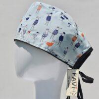 chapeau de chirurgie-les oiseaux Bretons