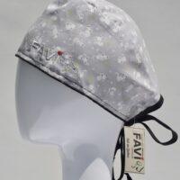 chapeau de chirurgie-les minis souris en gris pâle