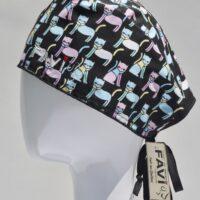 chapeau de chirugie-les chics chats
