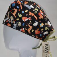 chapeau de chirurgie-les animaux de la forêt