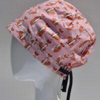 chapeau de chirurgie semi-bouffant-Petites Renardes