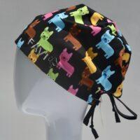 chapeau de chirurgie semi-bouffant-bouledogues français
