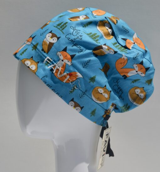 chapeau de chirurgie semi-bouffant-Let's go camping!