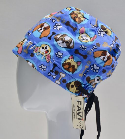chapeau de chirurgie semi-bouffant-les petites races
